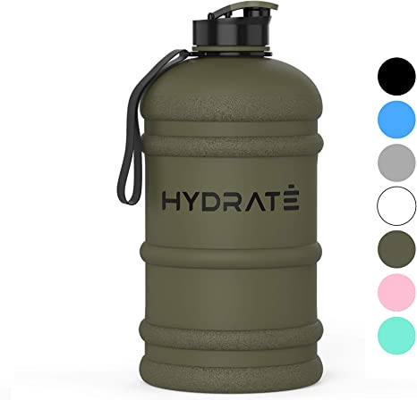 JUMBO 2.2 LITRE SPORTS GYM WATER BOTTLE GYM DIETING BODYBUILDING HIKING /& OFFICE