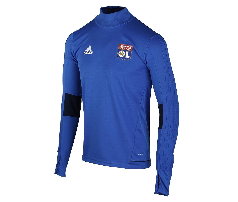Adidas Kinder Trainingsoberteil Olympique Lyon Jungen Sweatshirt