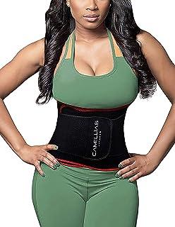 338532a244f SHAPERX Waist Trainer Trimmer Slimming Belt Hot Neoprene Sauna Sweat Belly  Band Weight Loss