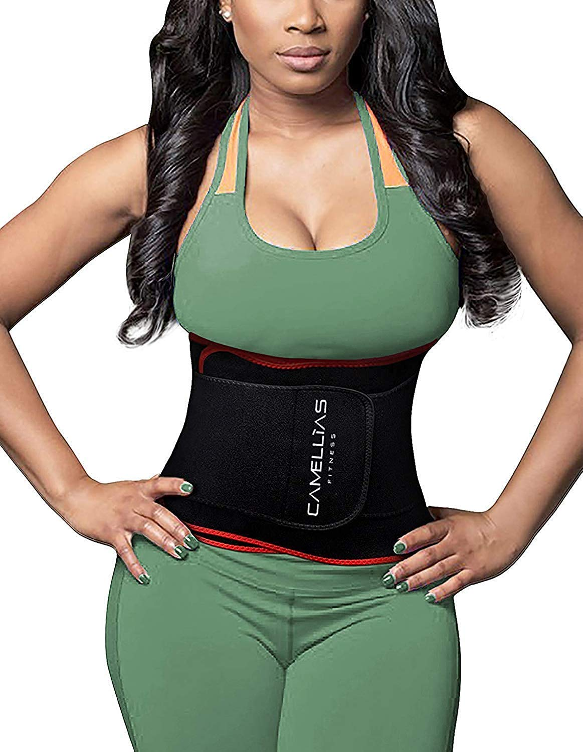 8aff7a1949 SHAPERX Waist Trainer Trimmer Slimming Belt Hot Neoprene Sauna Sweat Belly  Band Weight Loss Burner Stomach Wrap