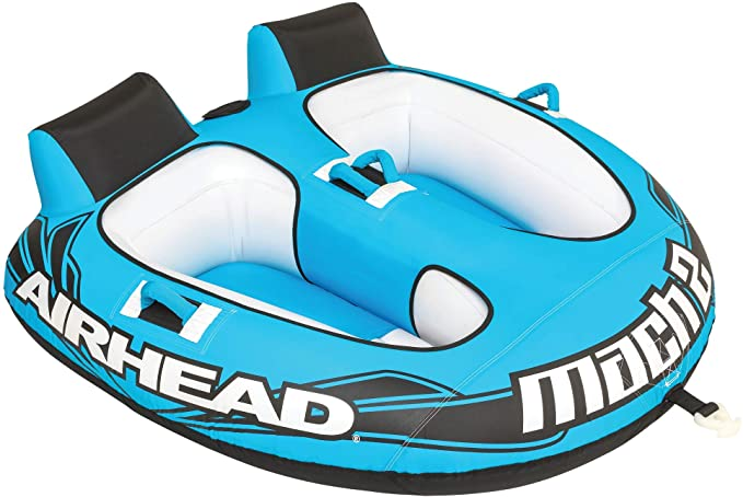 Airhead Mach 2 | 1-2 Rider Towable Tube for Boating best towable raft