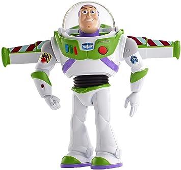 Mattel Disney Toy Story 4-Buzz Lightyear Superguardián Andarín, juguetes niños +3 años, multicolor GGH43