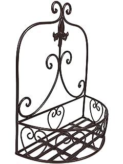 Rustikale hohe Drahtkörbe - 2er Set - für Dekorationen, Blumen oder ...