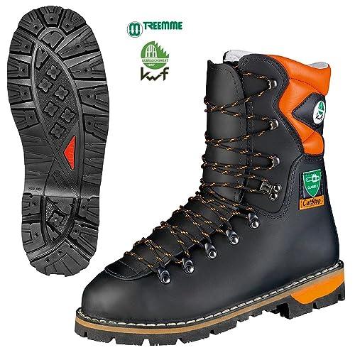 Treemme - Botas de leñador con protección contra cortes (piel)