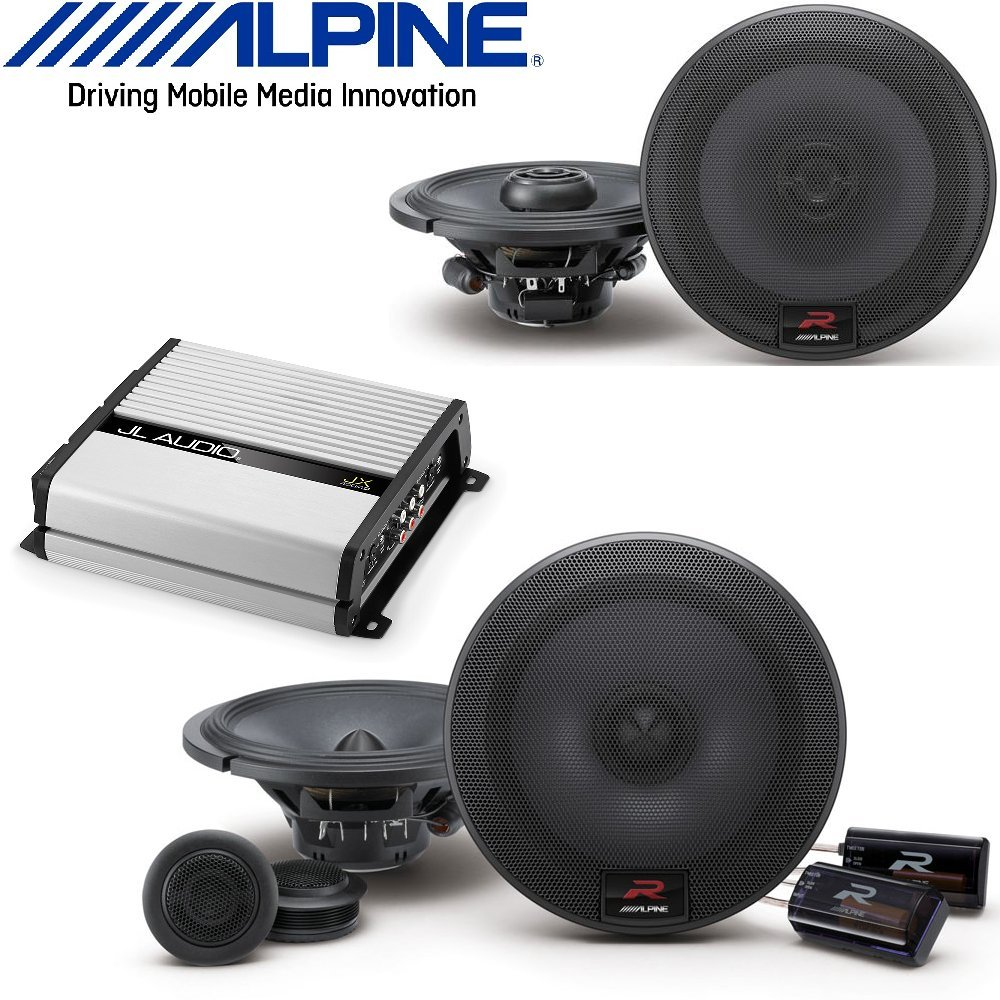 Alpine 65 Inch 300w Component 2 Way Car Speakers R Showing Off The Wiring And Mb Quart Qseries Passive Crossovers Series 300 Watt Pair Jl Audio Jx400 4d 4 Channel Amplifier 70 Watts