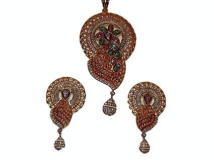 Devi Handicrafts Queen Solitaire Stud Cubic Zircon Earring For Women