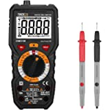 tacklife dm01m Advanced Version Multi Testeur Multimètre digital avec 6000points, True RMS, température, Live Wire, Beep Test continuité avec rétroéclairage ( Noir/Rouge )