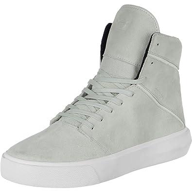 2a094f14e5ef Supra Mens Camino Light Grey Off White Shoes