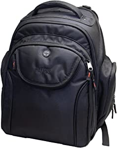 Gator Cases Club Series Backpack for DJ Equipment with Laptop Section and Bright Orange Interior; Large (G-CLUB BAKPAK-LG)