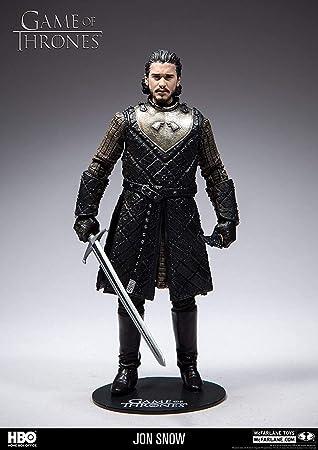 HEO GMBH- Game of Thrones Juego De Tronos Figura Jon Nieve, Multicolor (MC Farlane 10651-0): Amazon.es: Juguetes y juegos