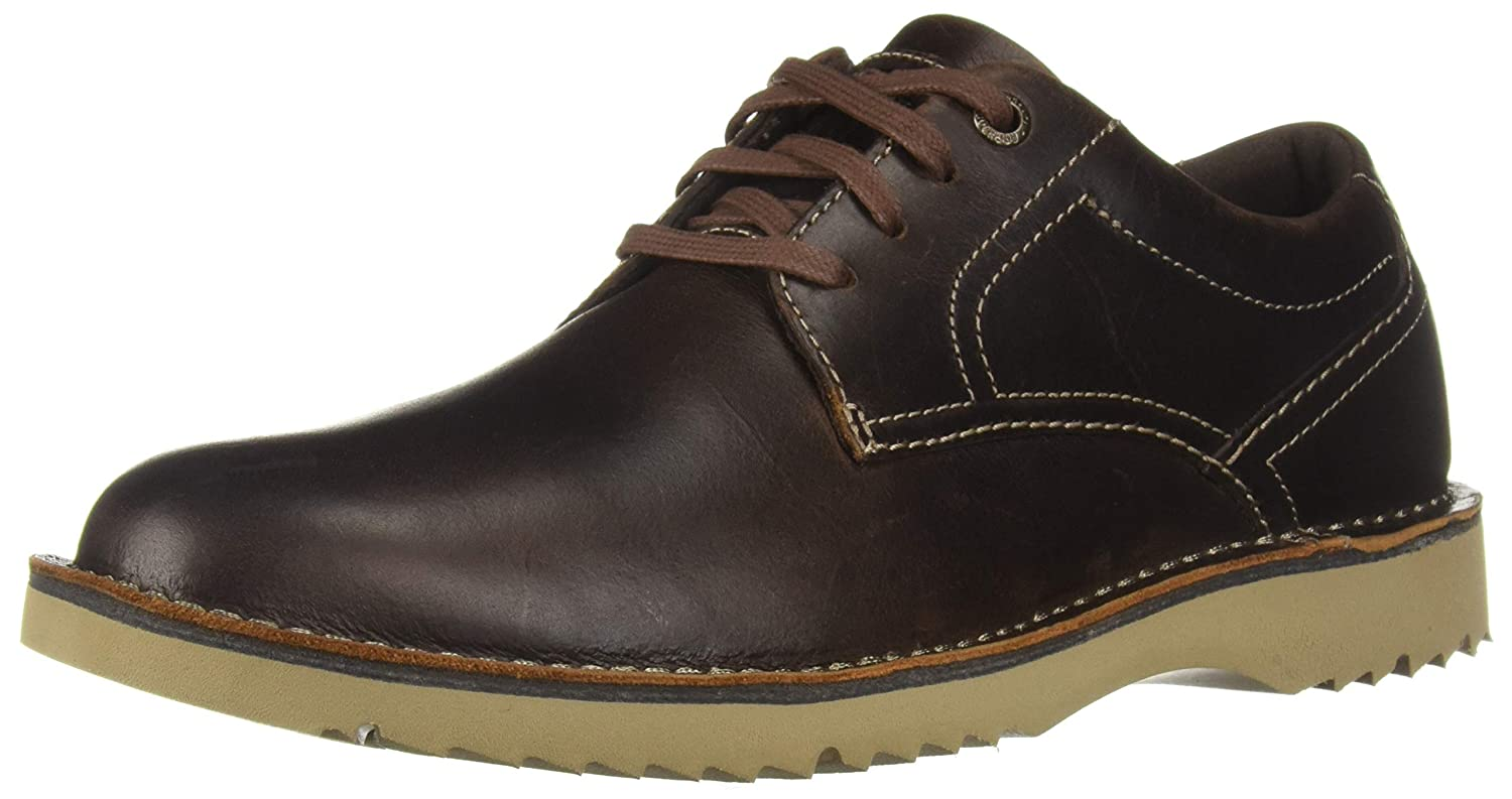 Beeswax Leather Rockport Herren Cabot Plain Toe