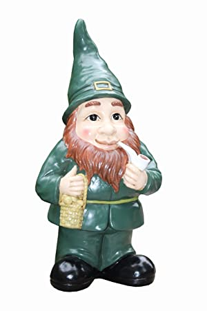 Genial Leisure Traders Irish Leprechaun Garden Statue Ornament