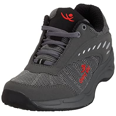 Chung Shi Balance Step Holiday 9100580 Herren Trekking- & Wanderschuhe, Schwarz (Black/Red), EU 40.5(UK 7)
