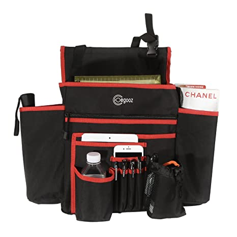 Car Front Seat Organizer With Large Capacity By Egooz 9 Storage Pockets Heavy Duty
