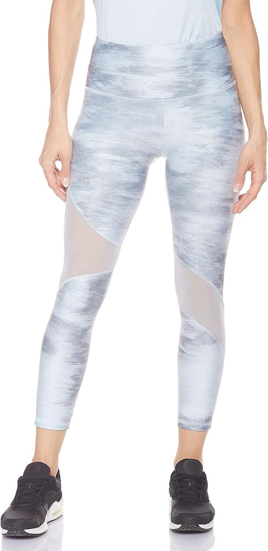Under Armour Womens HeatGear Armour Ankle Crop Print Leggings