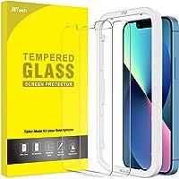 JETech Schermbeschermer Compatibel met iPhone 13/13 Pro 6,1-Inch, Gehard Glas Screen Protector met Eenvoudig te…