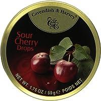 Cavendish & Harvey Sour Cherry Drops 1.75oz (7 Pack)