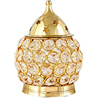 Crystal and Brass akhand Diya