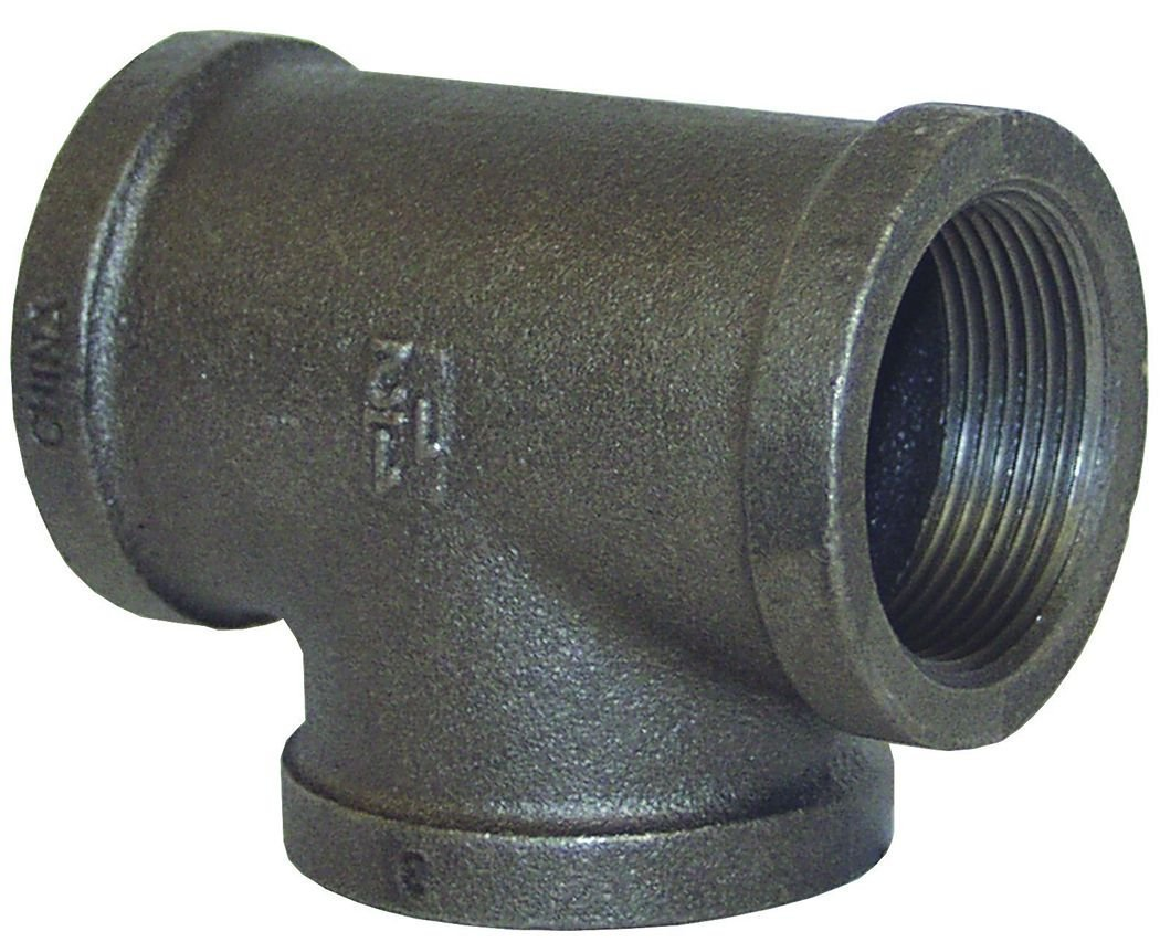Dixon Valve FT60 Iron 150# Pipe and Welding Fitting, Tee, 6'' NPT Female by Dixon Valve & Coupling
