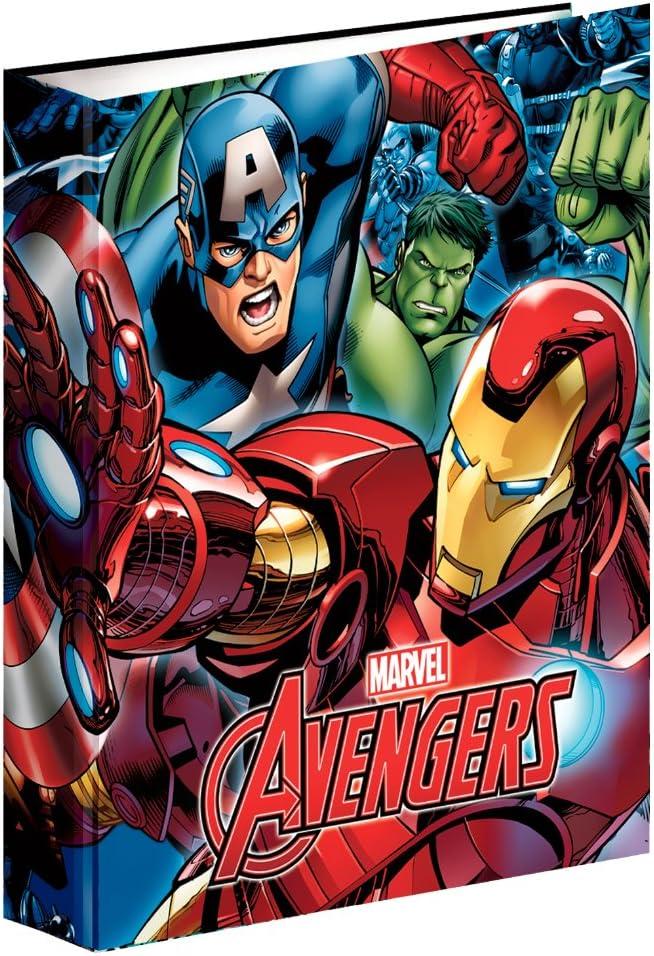 Raccoglitore ad Anelli A4 Marvel Comics Avengers Erik/®