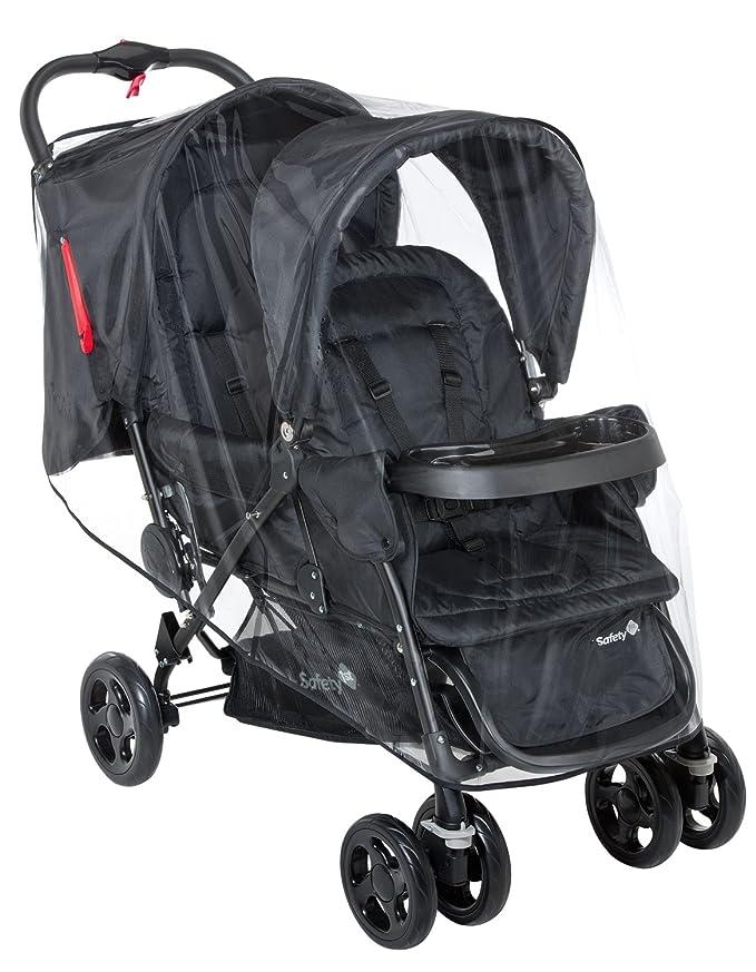 Safety 1st Duodeal 11487640 Silla de paseo gemelars, color negro (Full black) [Modelo antiguo]: Amazon.es: Bebé