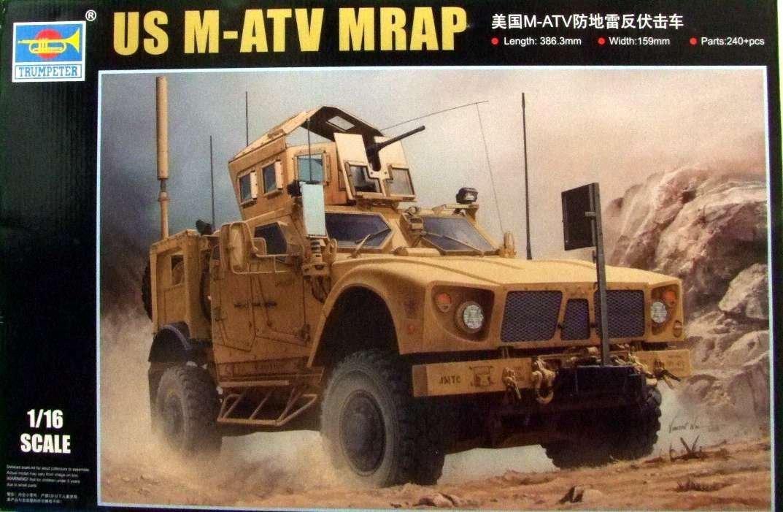 トランペッター 1/16 アメリカ陸軍 M-ATV/MRAP プラモデル B0151FOH6G