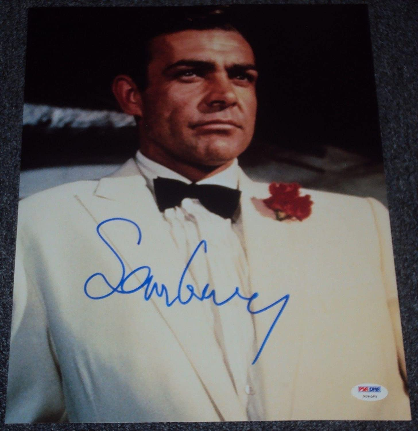 Sean Connery Signed Autograph James Bond Classic Suit 11x14 Photo V04589 Psa Dna Certified Movie Photos At Amazon S Entertainment Collectibles Store