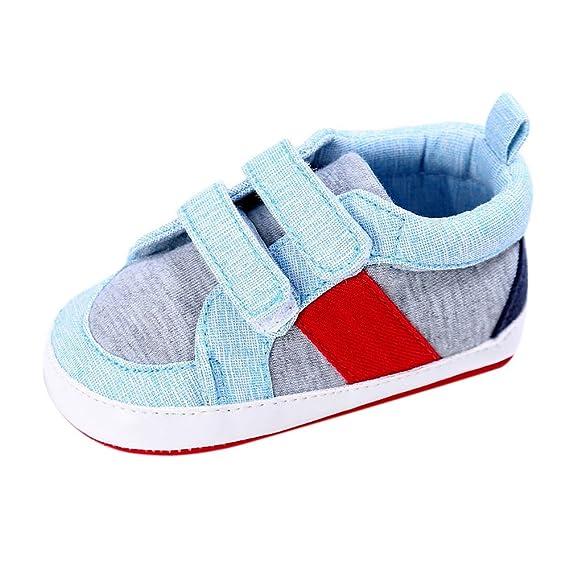 YanHoo Zapatos de bebé para niños pequeños Antideslizante Zapatos de otoño e Invierno Zapatos de bebé