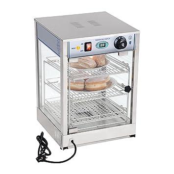 Royal Catering Vitrina Caliente Calentador Eléctrico RCHT-850 (850 W, Rango de temperatura