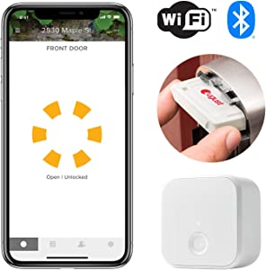 Yale WiFi and Bluetooth Upgrade Kit for Assure Locks and Assure Levers - Works with the August app, Amazon Alexa, Google Assistant and Siri (Ayr202-CBA-KIT)