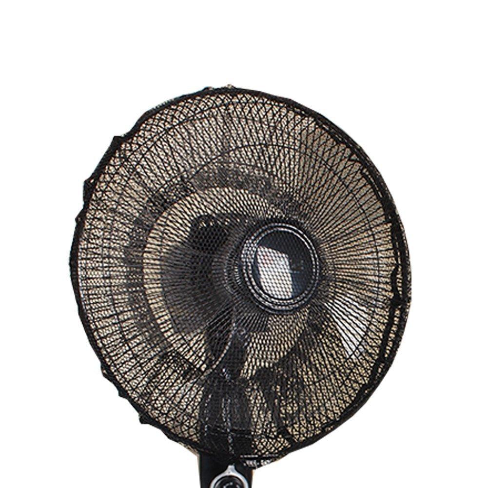 FORUSKY 40 x 15 cm Round Electric Fan Kid Finger Protector Dustproof Safety Fan Dust Cover Net Mesh for Pedestal Fan, Standing Floor Fan, Wall Fan, Oscillating Table Fan - White