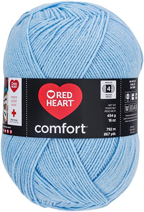 Red Heart Yarn Discontinued Color Mint 8 oz.