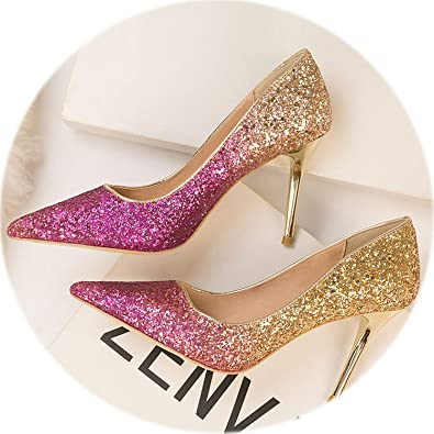 730e410910 Amazon.com | HANBINGPO 2019 Women Pumps Sexy High Heels Shoes ...