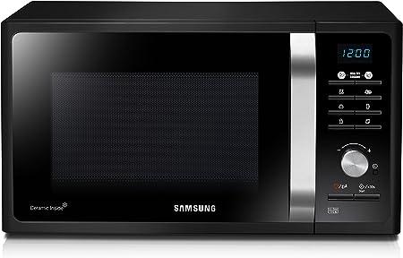 Samsung ME83X ME83 X Mikrowelle Keramik 23 liters schwarz Backfen ...