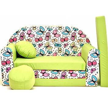 Divano Letto Bambini.Welox Z36 Bambini Sofa Divano Letto Divano Sofa Mini Couch 3 In 1
