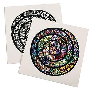 Velvet Inspiration Mandala Posters (Pack of 24)