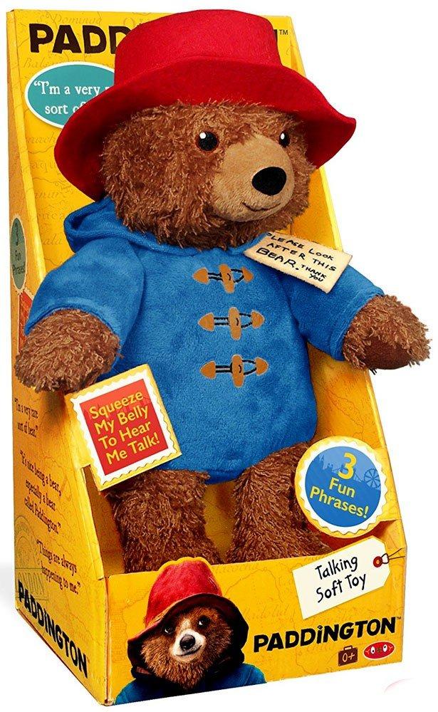 最高級のスーパー (Paddington Talking Bear) - Teddy Paddington Bear 28cm Teddy Bear Animals that Talks Stuffed Animals 28cm Big Teddy Bear Paddington Movie 2 B078HK5RK7, 増田町:99e28a6d --- senas.4x4.lt