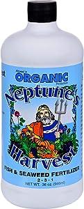 Neptune's Harvest Fish & Seaweed, qt