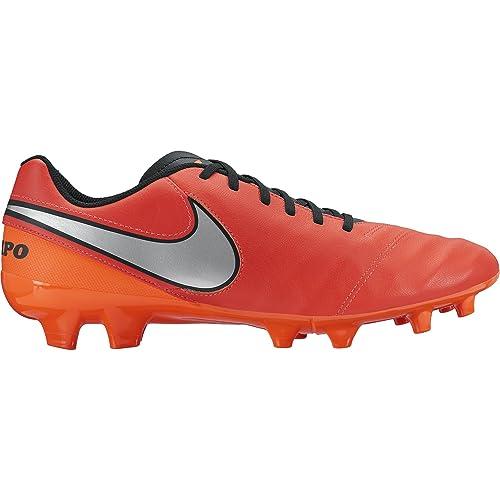 huge discount 689f8 a2bdc Nike - Tiempo Genio II Lea Fg, Scarpe da Calcio Uomo: Amazon.it: Scarpe e  borse