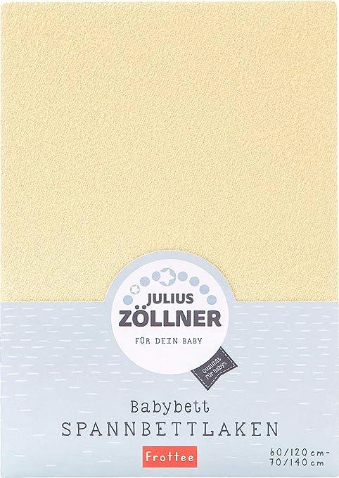 Julius Z/öllner Drap-Housse en /éponge pour lit denfant 60 x 120 cm 70 x 140 cm Banane 60x120 cm