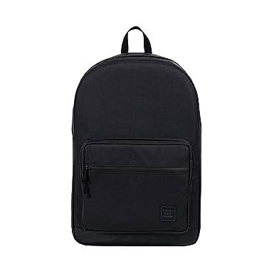 020d4e33d062 Herschel Unisex Pop Quiz Black Backpack Rucksacks (Black