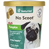 NaturVet No Scoot Plus Pumpkin Soft Chew