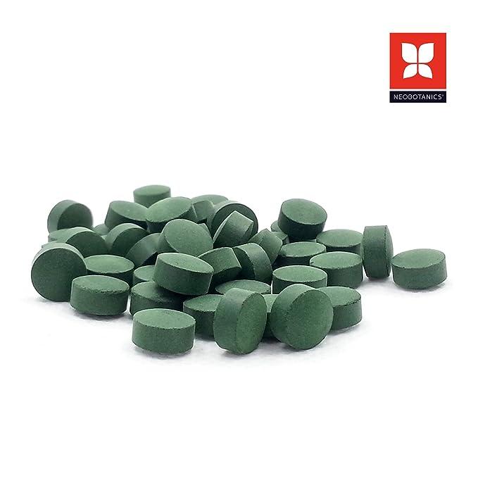 NEOBOTANICS® Premium Bio Spirulina para su sistema inmunológico - purificación, desintoxicación, drenaje de metales pesados, cura de ayuno, ...