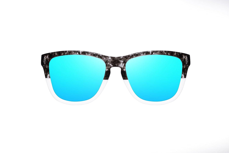 Occhiali da sole unisex Hawkers Bicolor Grey Tortoise Clear Blue One X