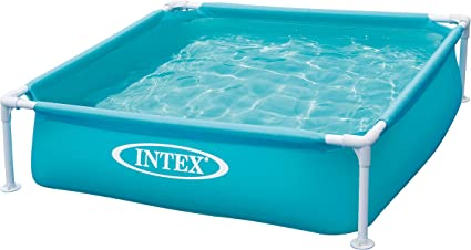 Amazon Com Intex Mini Frame Pool Blue Toys Games