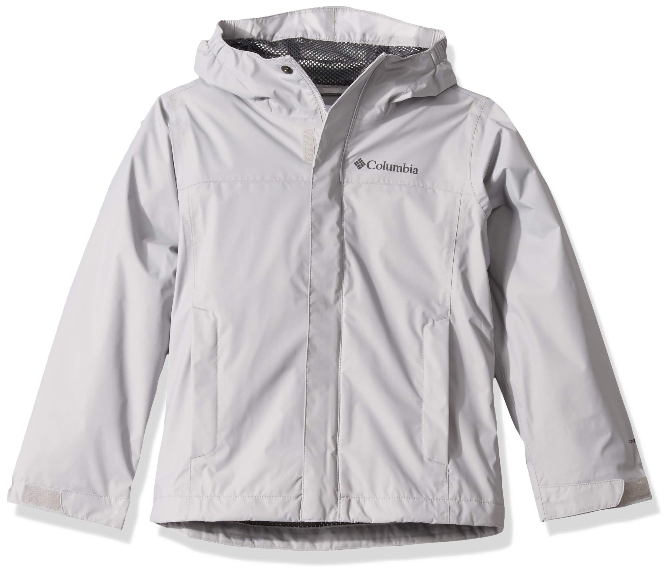 Columbia Boys' Big Watertight Jacket, Waterproof and Breathable, Slate Grey, X-Small by Columbia