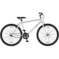 Mach City I Bike 2017 26T Single Speed Adult Cycle(Ivory White)