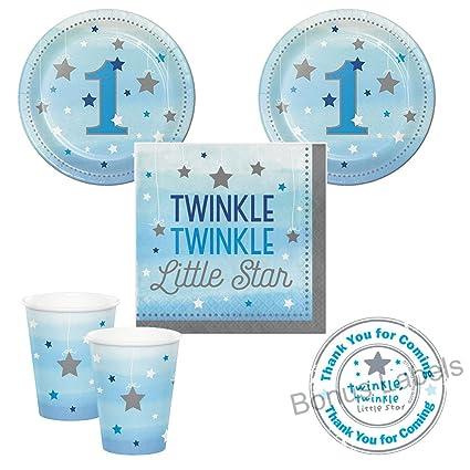 Amazon.com: 02 Twinkle Twinkle Little Star Boy suministros ...