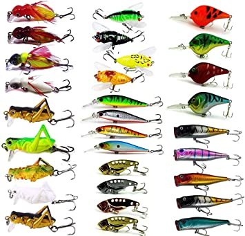 Silver 14g Lucky Direct Lure Fishing Accessories Lure 1Pc 3g 40g Fishing Lures Crankbait Minnow Hard Baits Treble Hooks Tackle Tool