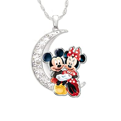 38bde8855 Officially Licensed Disney 'I Love You To The Moon And Back' Sterling  Silver Pendant